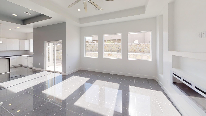 Interior shot of living area in 3091 Agua Ladoso