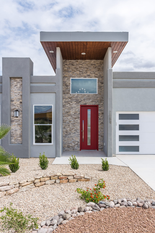 Exterior shot of 2884 Maddox contemporary home