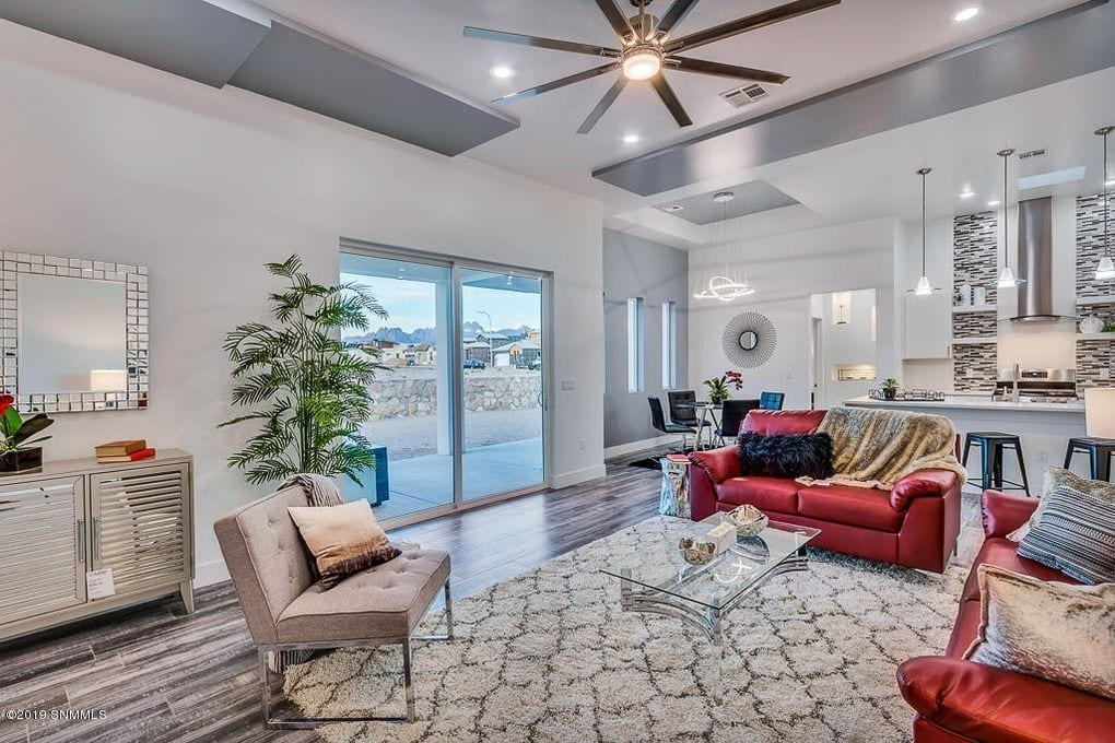 Interior shot of living area in 2190 Pacifico Court