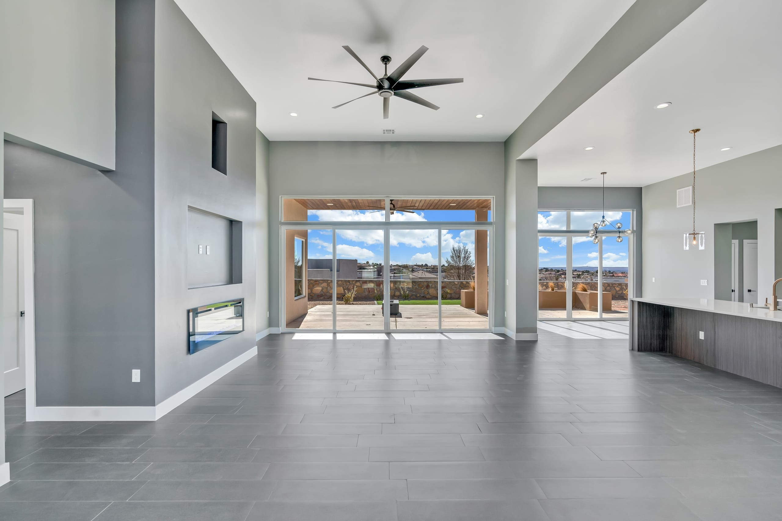 2914 East Springs - Great Room - View from Front Door Entry Way