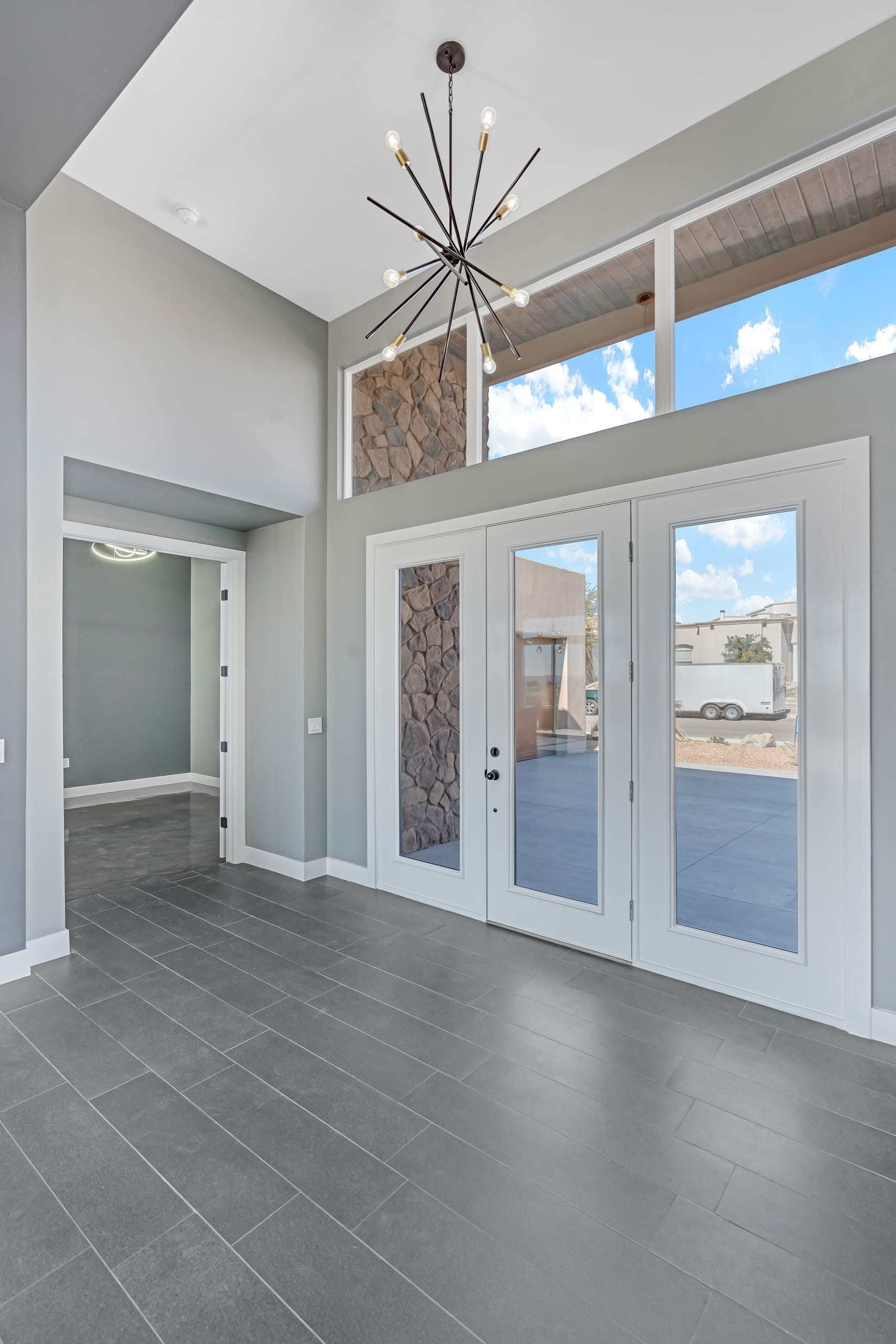 2914 East Spring Entrance Way - French Doors - Large Glass paned door
