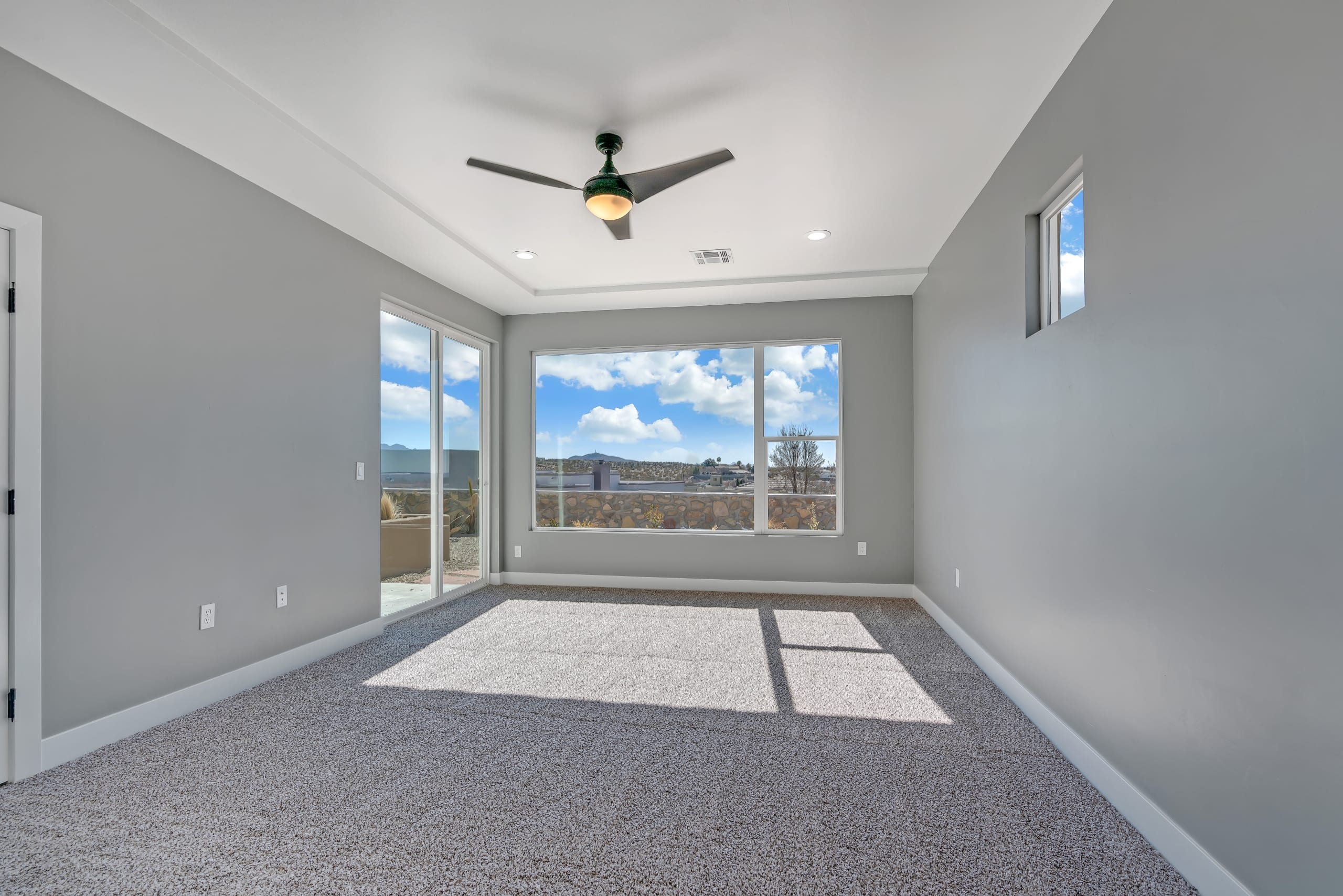 Master Bedroom - View from Bathroom entrance