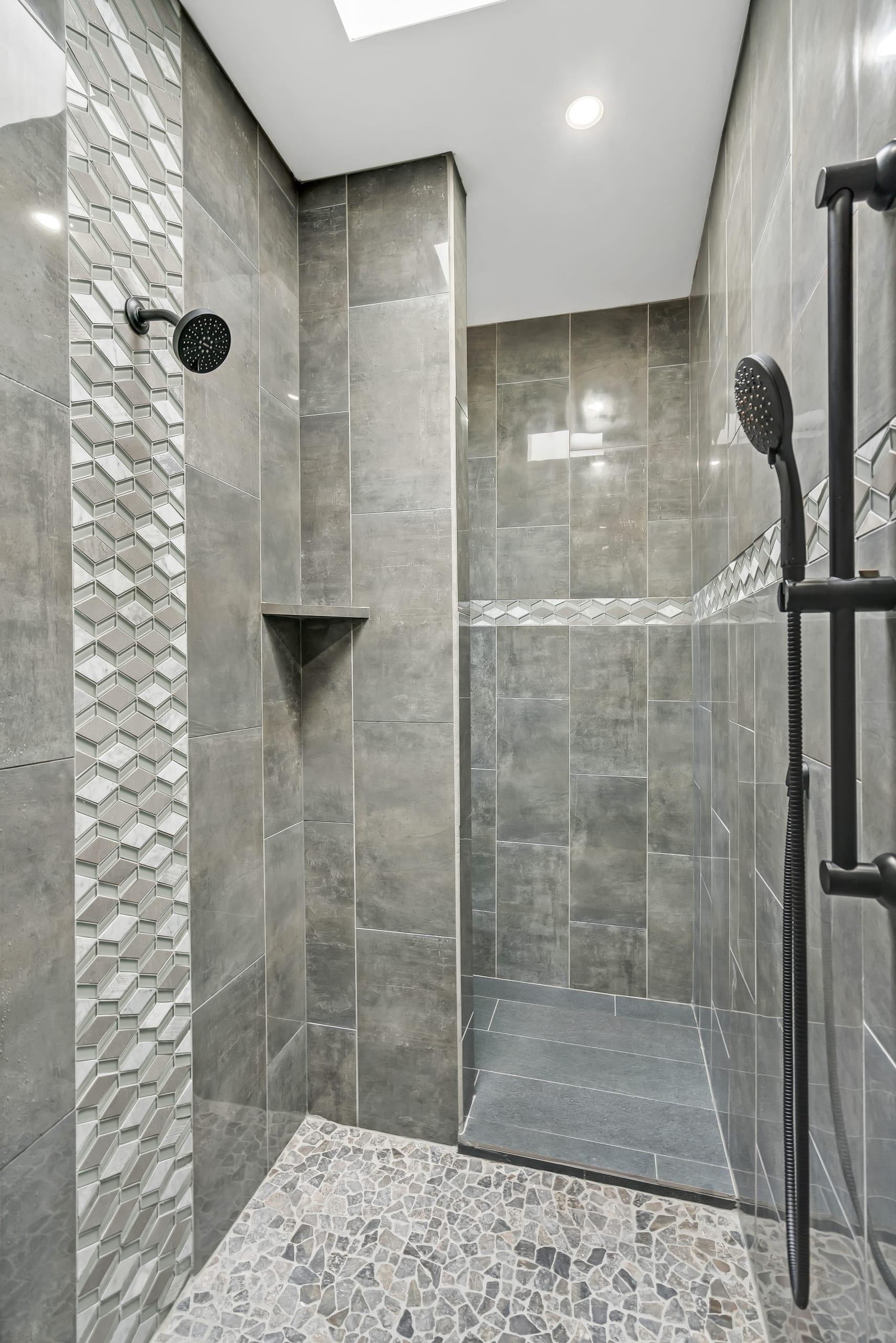 Stand Up Shower - Master Shower