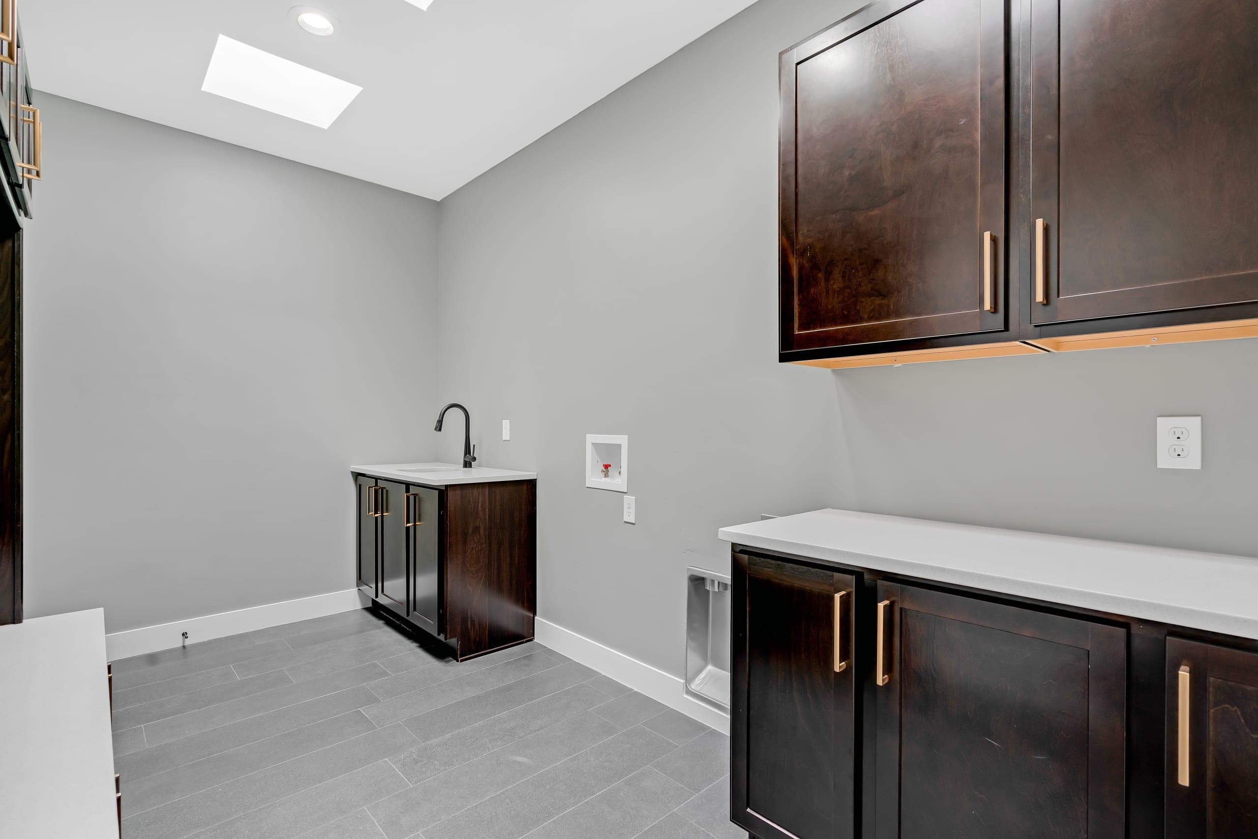 Washroom - Washer and Dryer ready - Utility Sink