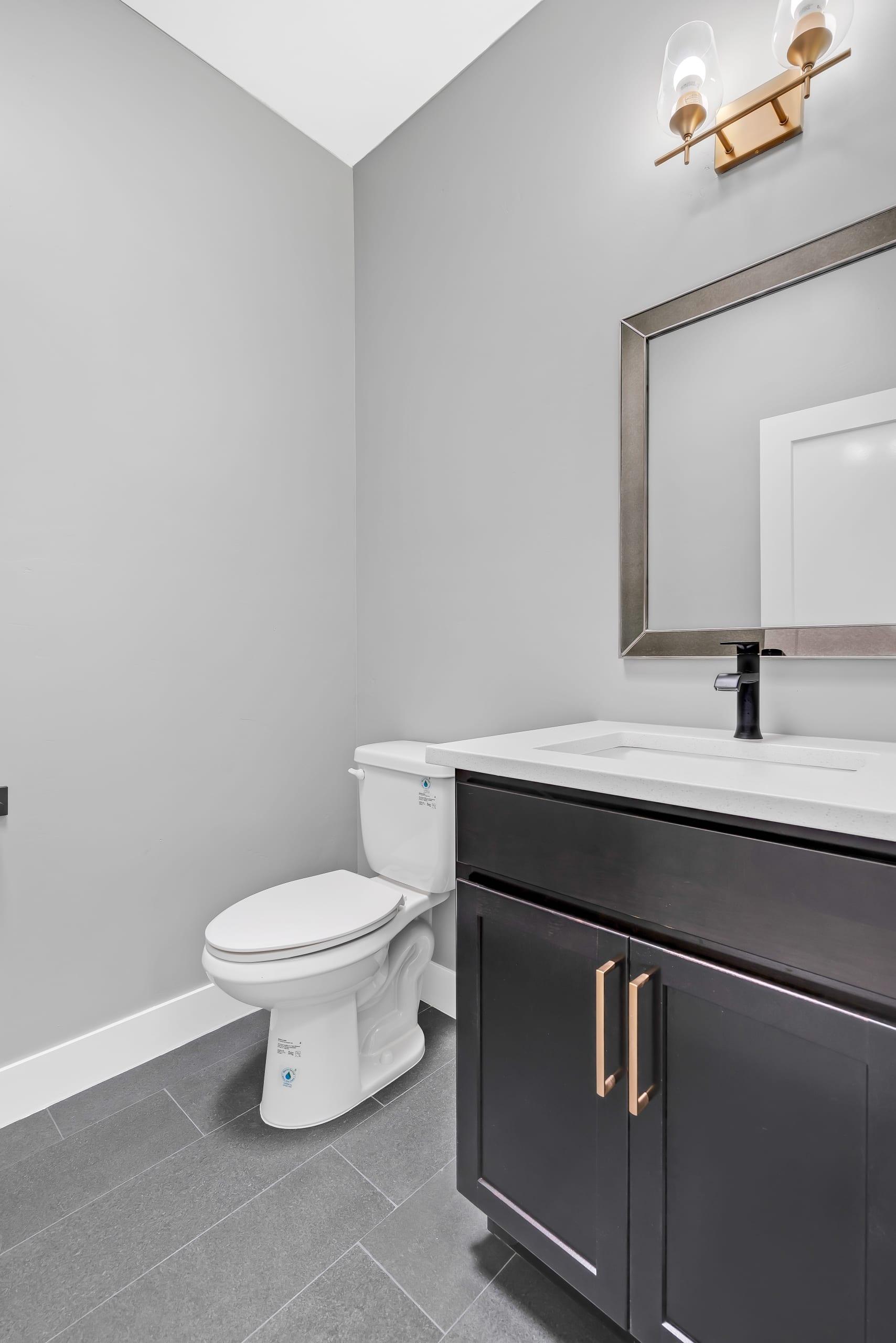 Bathroom - Single Sink - Toilet