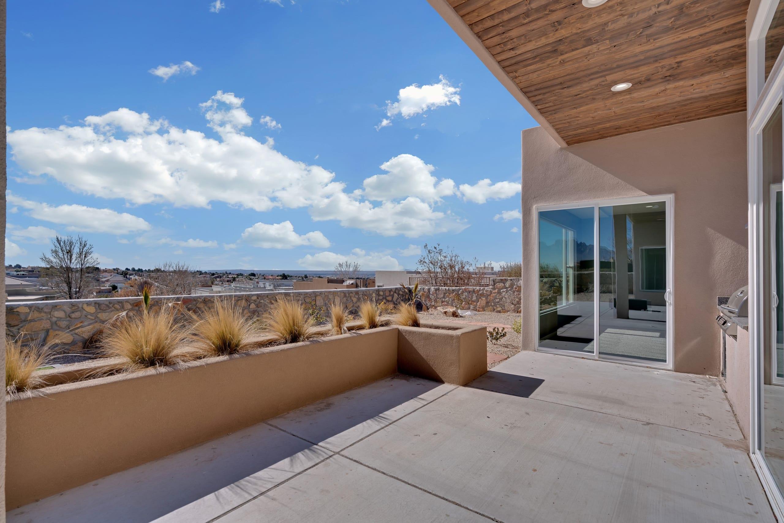 2914 East Spring Backyard - Facing Southwest - Patio view facing southwest